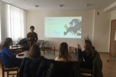 Susitikimas su savanoriu iš Europos savanorių tarnybos projekto (EVS) – Vitor Marques.